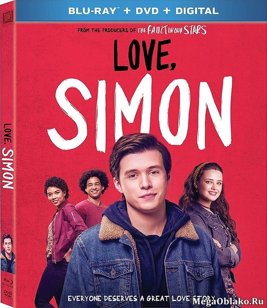 С любовью, Саймон / Love, Simon (2018/BDRip/HDRip)