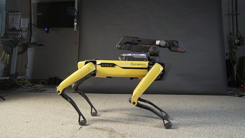 Boston Dynamics robots future роботы бостон танцы