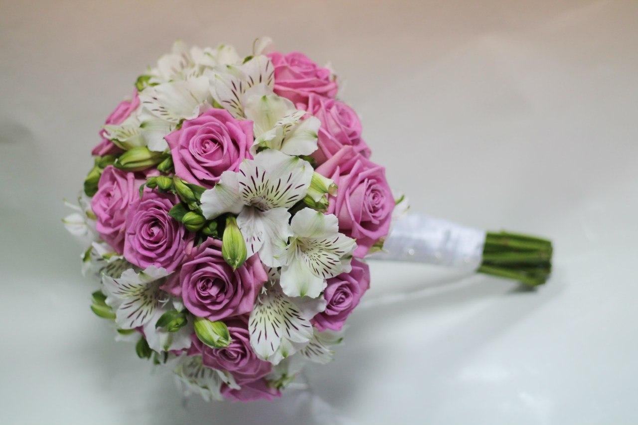 Букеты на свадьбу цена и фото