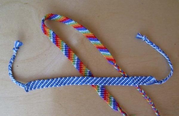Фенечки схемы плетения Когда