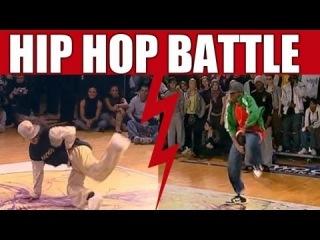 Hip Hop Dance Battle : Dedson Stephani VS U-Gin Driss [ FINAL ]