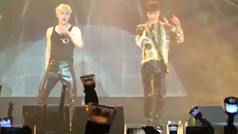 [VK][180620] MONSTA X fancam - Versace On The Floor @ The 2nd World Tour The Connect in Amsterdam