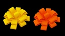 How to make Paper Flower Bow (very easy) - HD