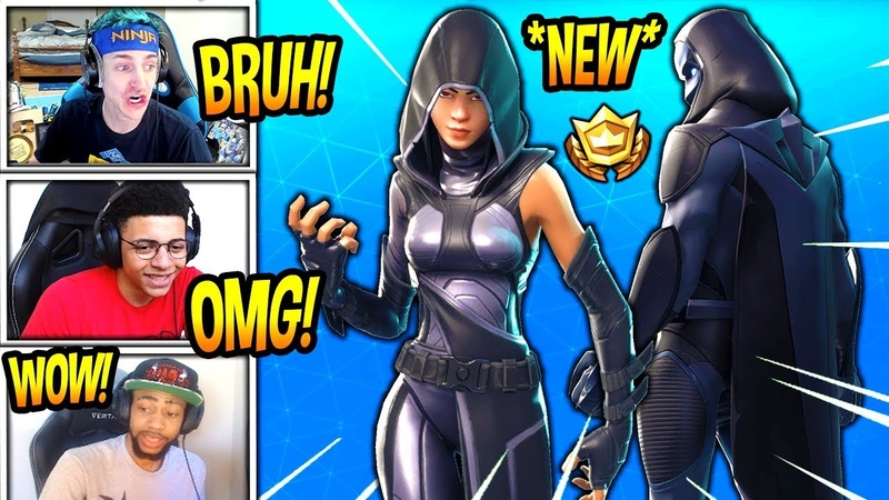 STREAMERS REACT TO *NEW* FATE OMEN SKINS! *LEGENDARY* Fortnite SAVAGE FUNNY Moments