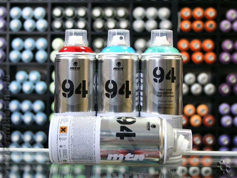 Краска для граффити MTN 94 400 мл Montana Colors S.L. Испания