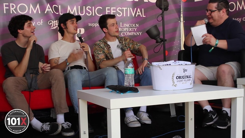 [Interview] Wallows LIVE from the Austin City Limits Music Festival 2018 | 101X