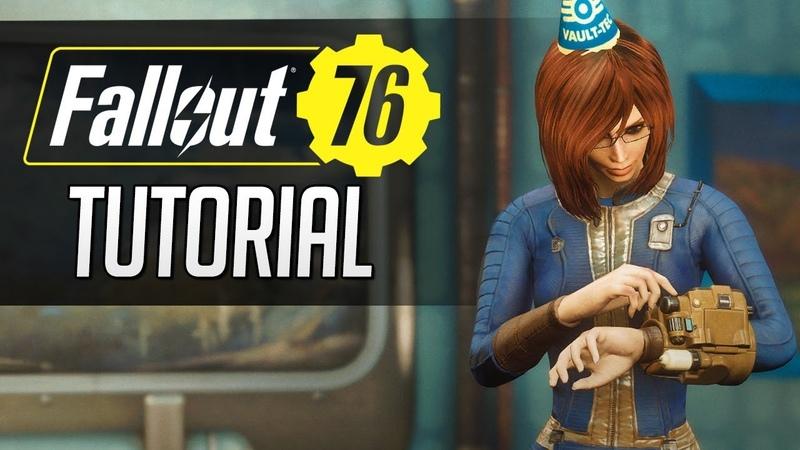 Fallout 76 tutorial e gameplay nel Vault 76