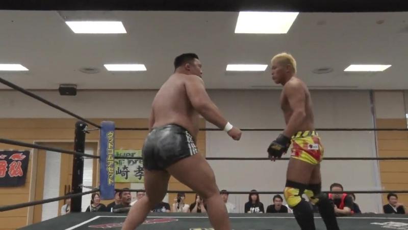 Keisuke Okuda vs Yuki Ino DDT Road to Ryogoku 2018 ~ Dramatic Dream Tenmusu