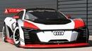 Audi e tron quattro Vision Gran Turismo race car sound