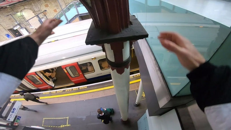 Race The Tube - London Parkour POV 🇬🇧