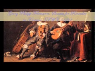 Georg Philipp Telemann: Sonata for Recorder in F minor, (TWV 41:f1)