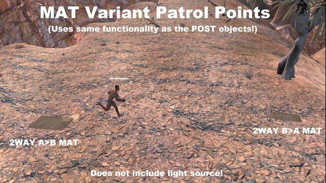 Patrol Waypoints Plus / Патруль по Контрольным Точкам (RU)