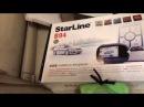 Сигнализация с автозапуском StarLine B94 СтарЛайнб94 установка на Мерседес