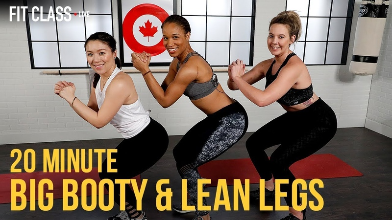 Booty Burner and Lean Legs Workout   Fit Class Live