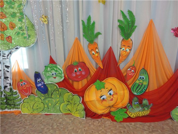 Осенние украшения своими руками для детского сада