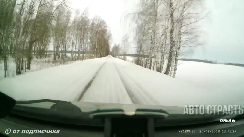 Новые Записи с Видеорегистратора за 23.03.2018 VIDEO № 869