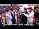 [RUS SUB][22.05.18] BTS @ Kalen Talks at the 2018 Billboard Music Awards