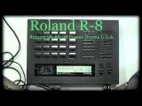 Roland R-8 SN-R8-09 Power Drums U.S.A.