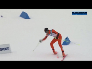 Лыжник из Венесуэлы позабавил зрителей на ЧМ в Финляндии