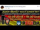 Hinweis auf unsere PEGIDA DIREKTÜBERTRAGUNG für HEUTE ABEND 10.09.2018 ab ca.
