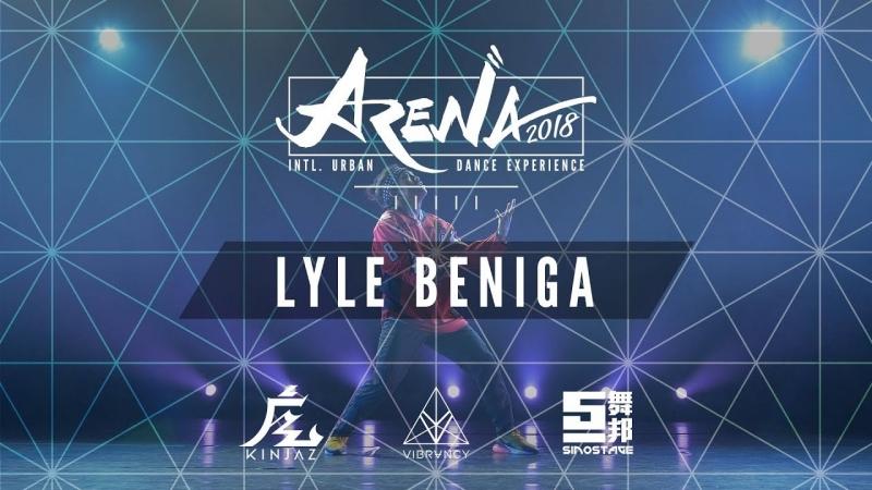 Lyle Beniga Arena LA 2018 @VIBRVNCY Front Row 4K