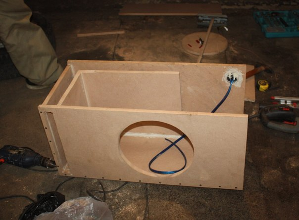 Изготовление корпусов сабвуфера своими руками
