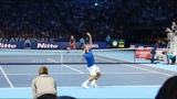 Federer vs Zverev COURT LEVEL VIEW - London 2018
