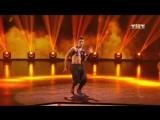 Виталий Уливанов (Танцы на ТНТ, 23.12.17 сольный)