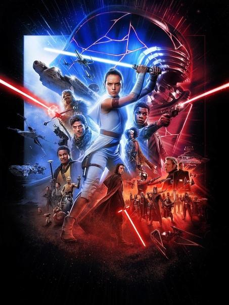 Постер финального эпизода «Звездных войн» в HD и без надписей
