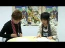 Tachibana Shinnosuke & Okamoto Nobuhiko - face off in put on a tie!