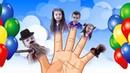 Семья пальчиков - веселая песенка, Finger family song - танцуем и поем
