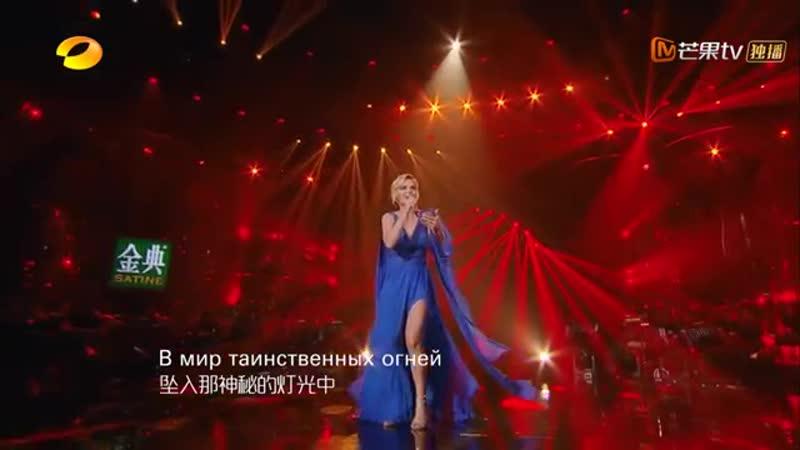 【纯享版】波琳娜 Polina Gagarina《雨飘落在身边 摇篮曲》《歌手2019》第12期 Singer 2019 EP12【湖南卫视官方HD】
