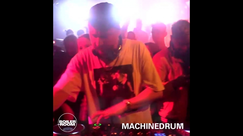 Boiler Room Sydney - Machinedrum