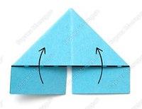 Как сделать треугольные модули оригами для производства поделок.  Заяц оригами из модулей: мастер класс.