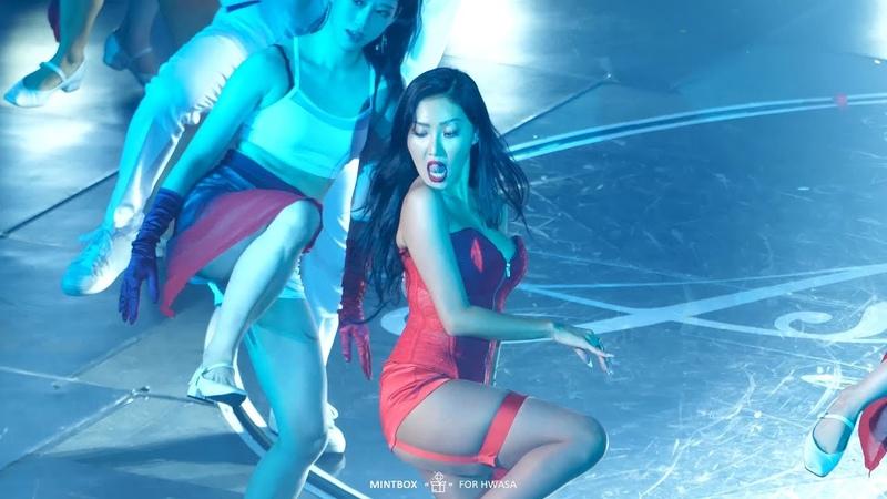 4K 180819 마마무 콘서트 4season s s 'The Lion Sleeps Tonight HandClap' 화사 직캠 Mamamoo Hwasa Fancam