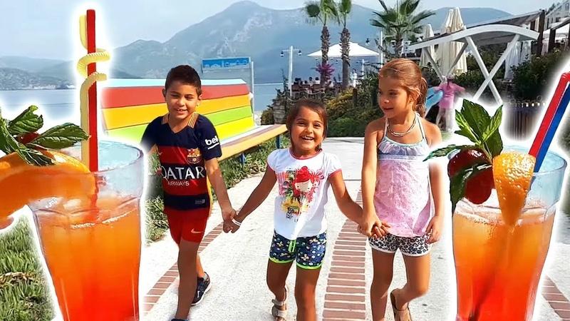 Fındık ailesi tatil yapıyor. Çocuk dizisi