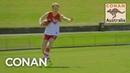 Conan Plays Australian Rules Football With The Sydney Swans - CONAN on TBS