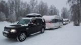 Новый 2019 год под Северным сиянием. Анонс приглашения в Арктический караванинг с домами на колесах