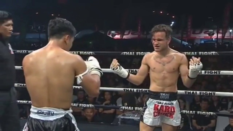 Petch Phangan Lukjaoporongtom (Thai) Vs Federico Mazza (Italy), Thai Fight 7 July 2018