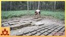 Primitive Technology: Кирпичи из грязи
