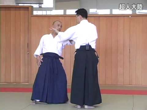 Gyakuhanmi katatedori kote gaeshi kirihanashi Shishiya sensei
