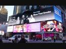 Major Lazer Tove Lo - Blow That Smoke (promo at NYC Times Square)