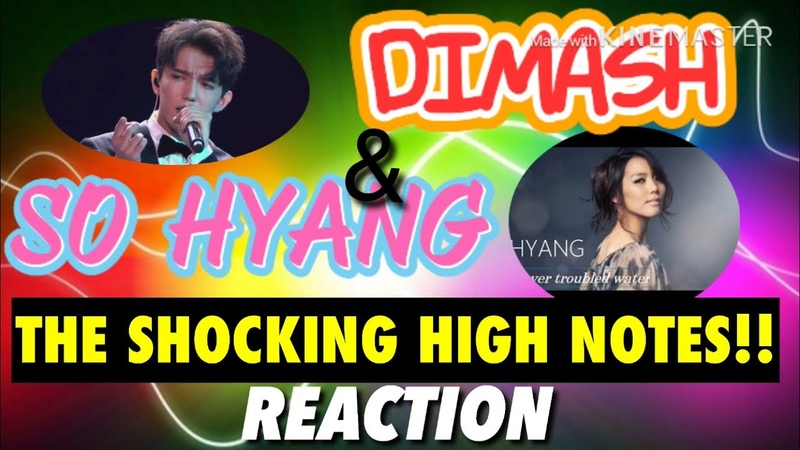 SOHYANG (소향) DIMASH (Димаш) Shocking High Notes! - REACTION by Zeus