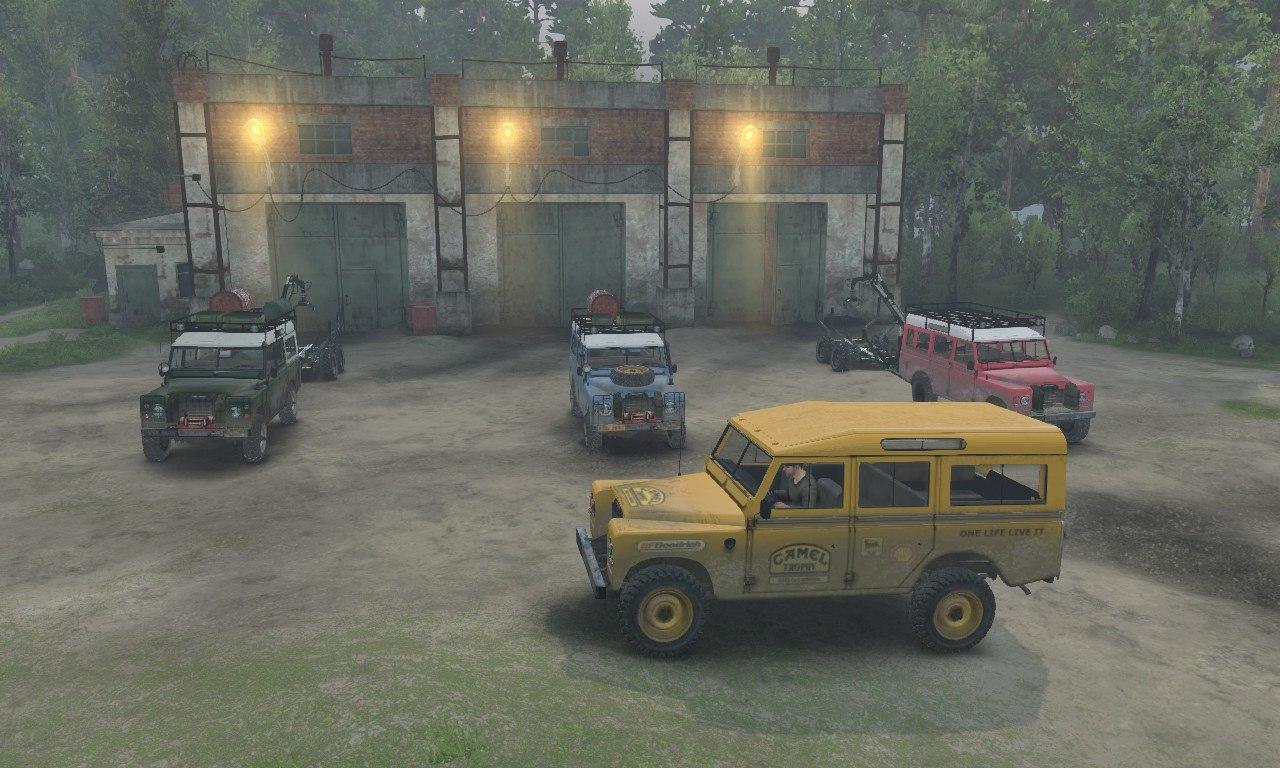 Land Rover series III для 03.03.16 для Spintires - Скриншот 3