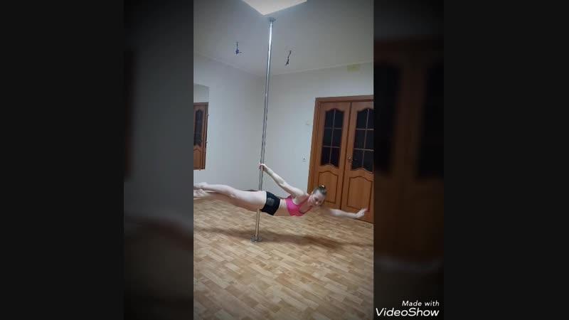 Pole fitness. Pole sport. Анастасия Давыдова