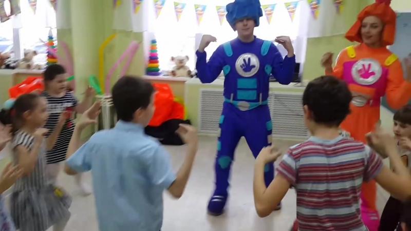 веселые дни рождения с детским центром Наследие