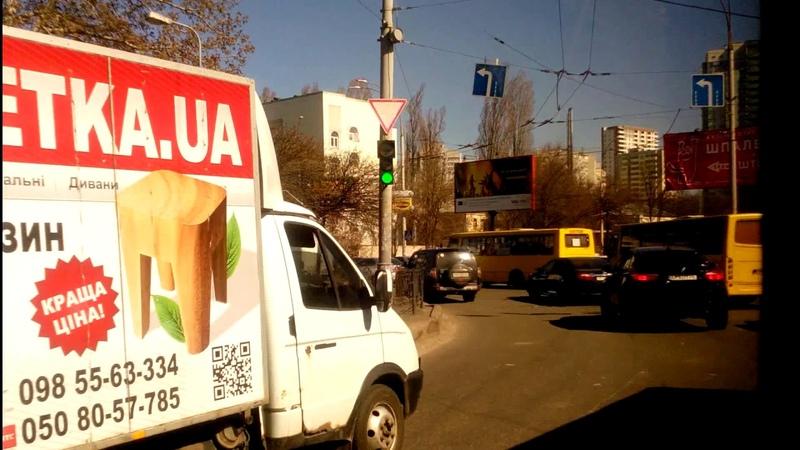 Автобус №119 часть 2|Bus №119 part 2 Контрактова площа - Вул. Юрія Смолича