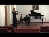 Paganini, Niccolo - 4th violinconc, mvt 2 - Adagio flebile con sentimento (скрипка - К. Кныш, фортепиано - О. Киктенко)
