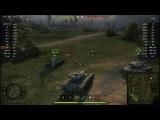 World of Tanks ротный бой клана птицы