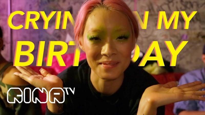 RINA TV: S1 E3: CRYING ON MY BIRTHDAY (BIRTHDAY REACTION VIDEO)